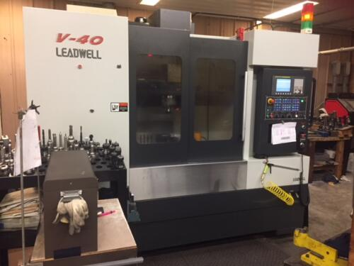 Leadwell CNC Mill